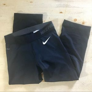 Nike Pro Dri-Fit black Training Capris